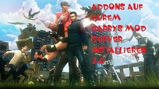 Gmod 13 Server Addons installieren 2014 Tutorial