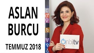 Aslan Burcu - Temmuz 2018 - Astroloji