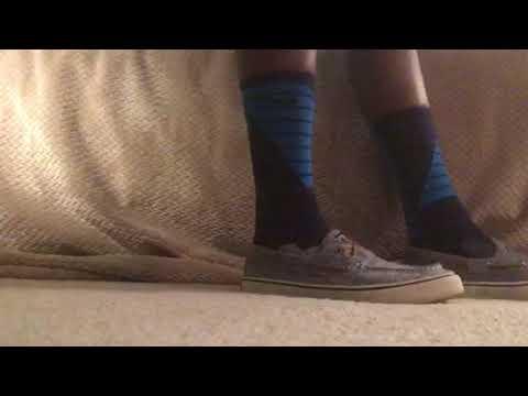 best service 9eb9b 00baf Blue hyper elite socks and sperrys