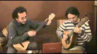 Bambuquísimo de León Cardona (bandola-cuatro-guitarra)