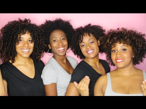 3A-4C Curl Types 1 Product - As I am Naturally Product Tutorial