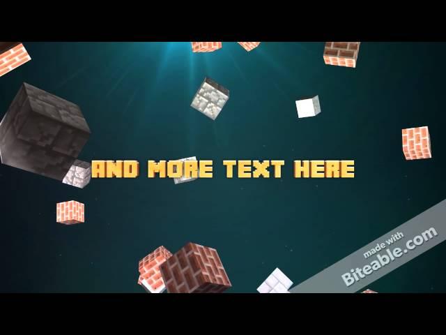 Minecraft Intro Video Maker - Minecraft server kostenlos erstellen youtube