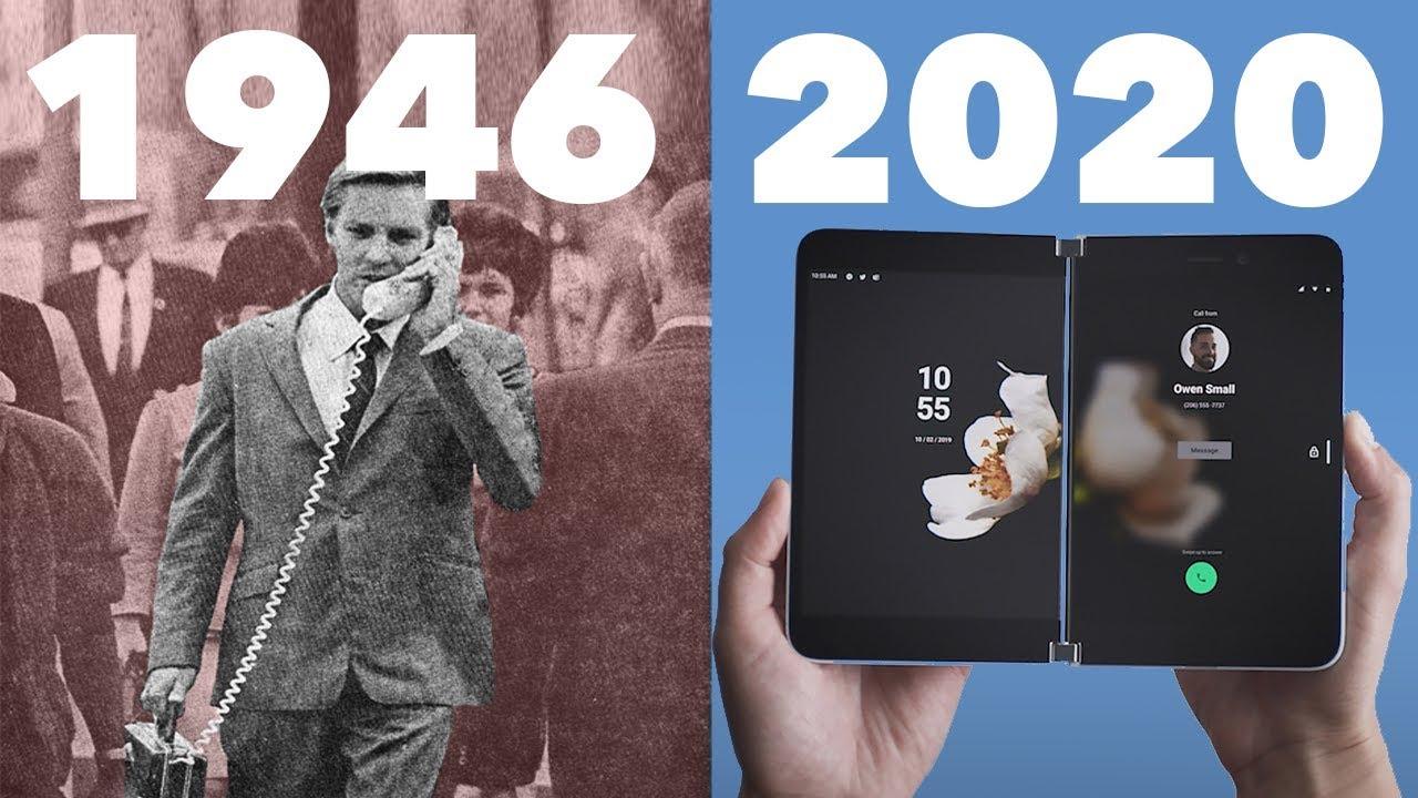 Entwicklung der Mobiltelefone?