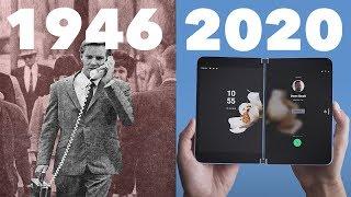 شاهد تطور الهواتف المحمول ( Evolution of Mobile Phones 1946 - 2020 )