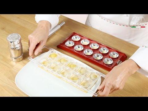 les pates farcies faites maison avec marcato ravioli tablet didacticiel video