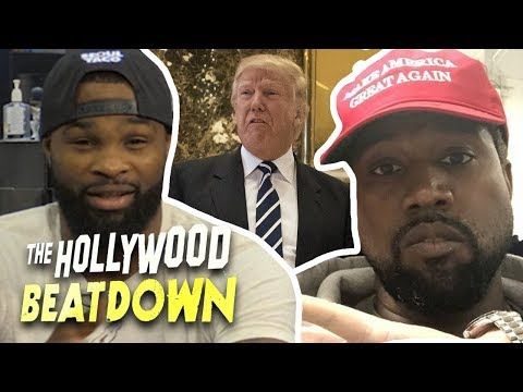 Tyron Woodley Says Kanye Is Just Trying To Sell Albums | The Hollywood Beatdown