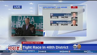 OC Rep. Rohrabacher Addresses Supporters As He Faces Possibility Of Losing Seat