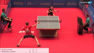 Анастасия Колиш vs Anastasia Bondareva (GER) | European Youth Championships 2019 (final)