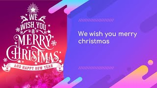 We Wish You Merry Christmas by  TK Santa Theresia