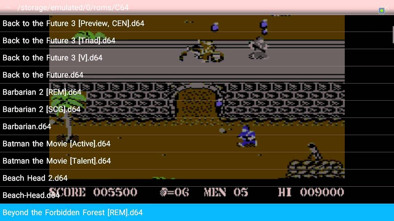 Help: C64 emu Support Site – NVidia Shield Zone