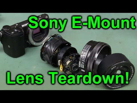 EEVblog #849 - Sony E-Mount Camera Lens Teardown