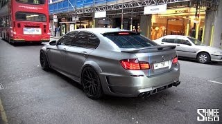 Hamann BMW M5 F10 - Matte Grey with M-Power Stripes