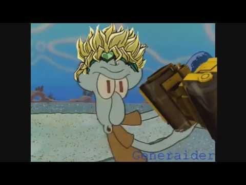 Squidward Unleashes ZA WARUDO!!