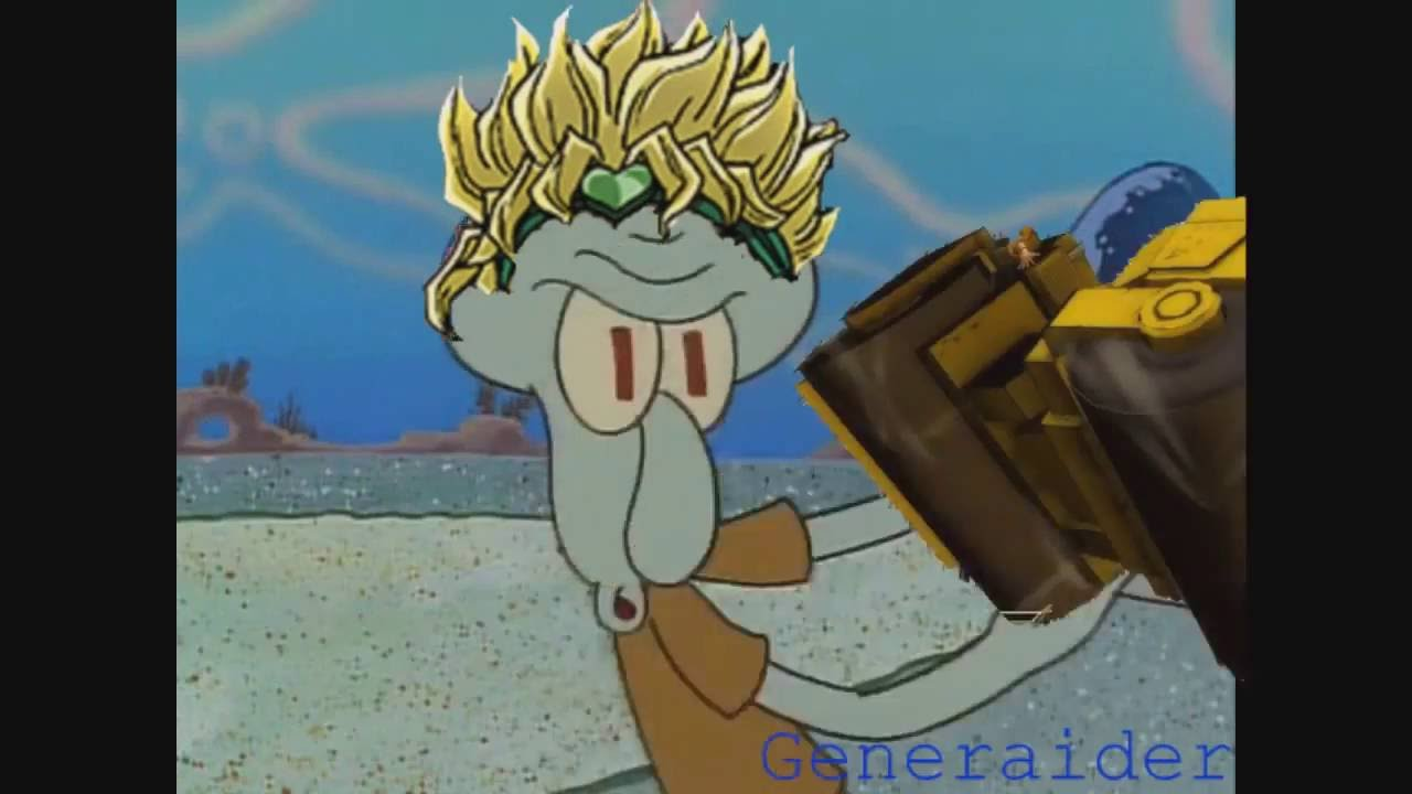 Squidward Unleashes ZA WARUDO!!