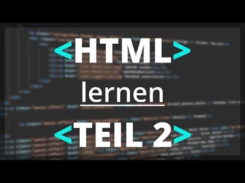 HTML Lernen -  Struktur Einer Webseite | Teil 2 [deutsch]