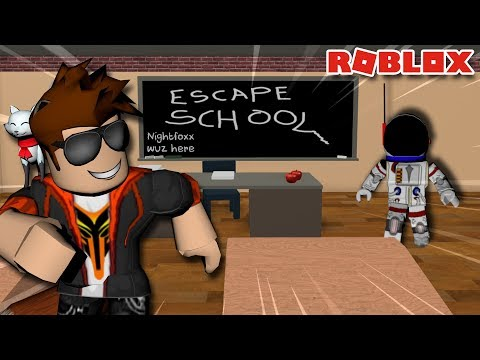 DITCHING CLASS! -- ROBLOX ESCAPE SCHOOL OBBY