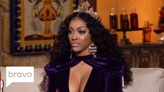 RHOA: Kandi Burruss Writes a D Challenge for Andy Cohen (Season 10, Episode 20) | Bravo