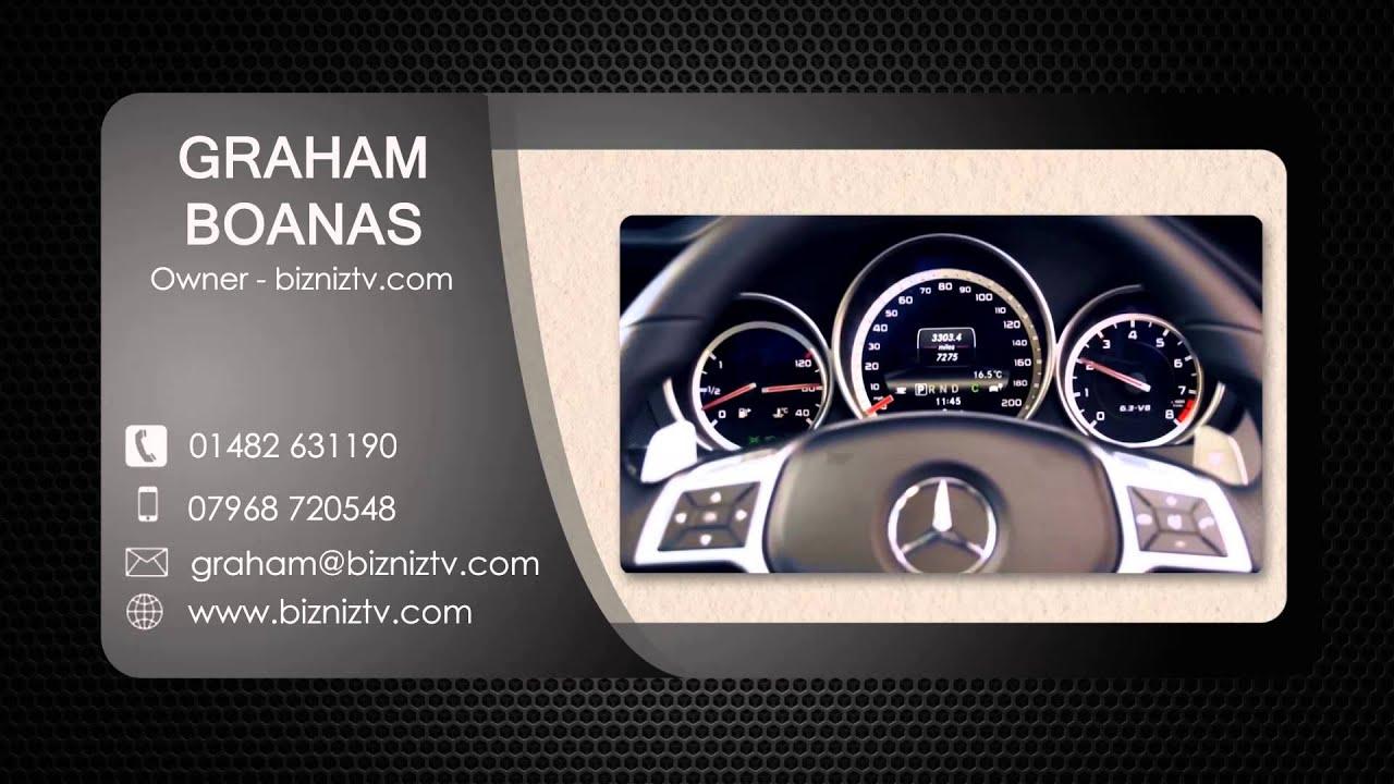 graham boanas bizniz tv online business card youtube