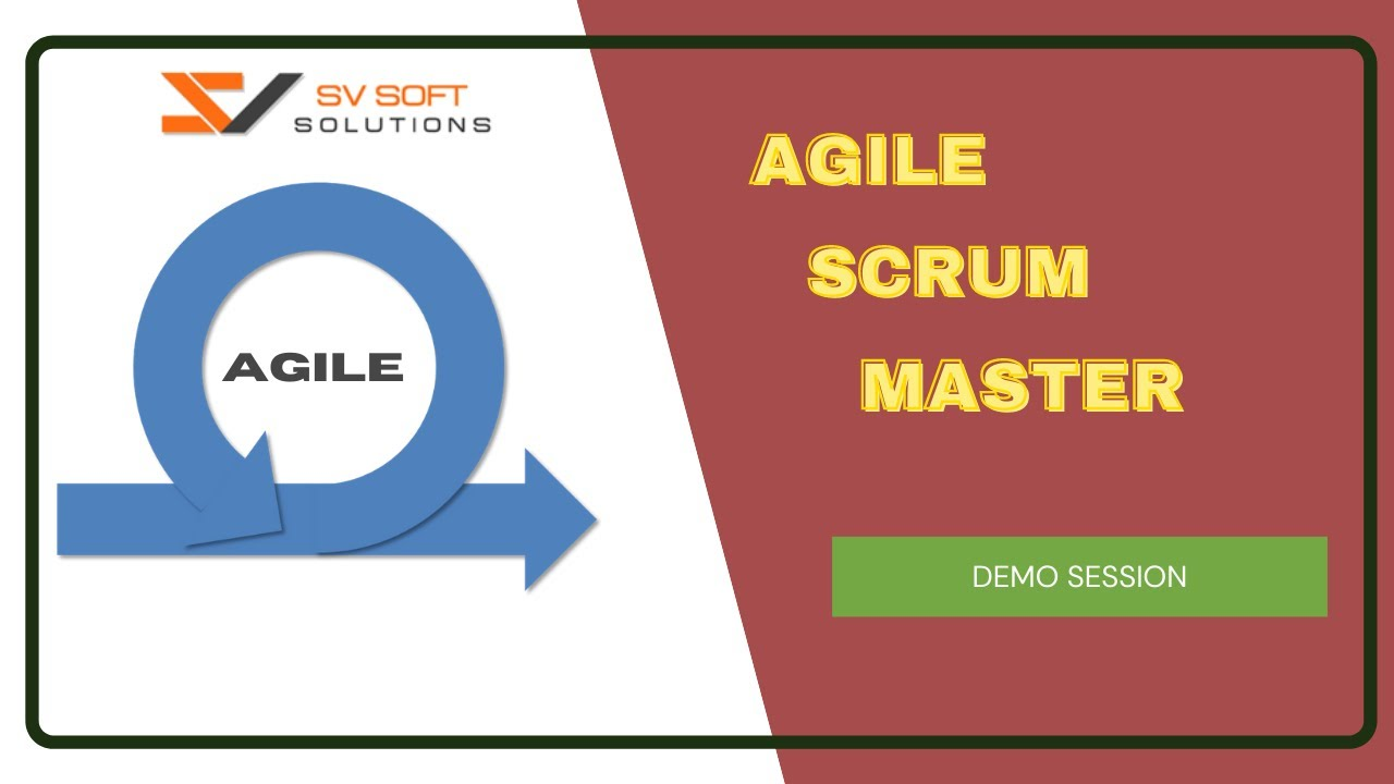Agile Scrum Master Certification Training Scrum Master Training