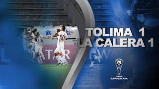 Deportes Tolima vs. Unión La Calera [1-1] | RESUMEN | Segunda Fase | CONMEBOL Sudamericana