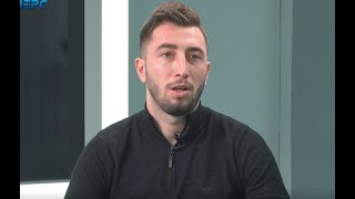Фото Богдан Оринчак в ефірі програми «Все про спорт» 25 січня 2021