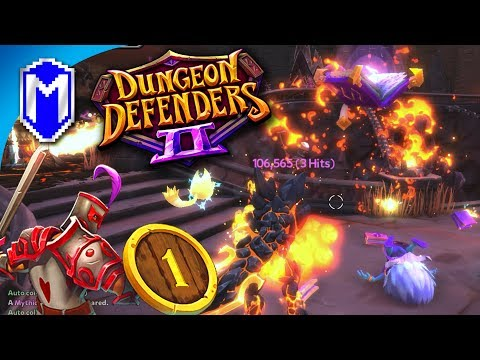 Back Defending Our Dungeons, The Heroes Of Etheria - Let's Play Dungeon Defenders 2 Gameplay Ep 1