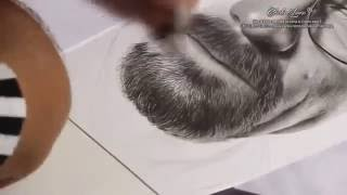 Heisenberg - Speed Drawing by Charles Laveso