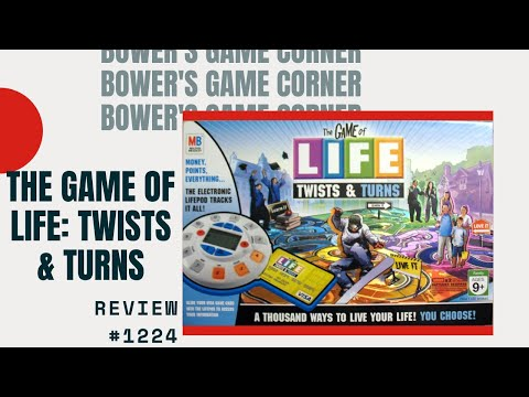 Bower's Game Corner: The Game Of Life: Twists & Turns Review