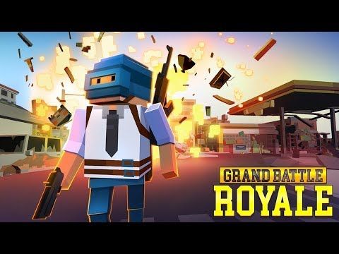 GRAND BATTLE ROYALE: Pixel War Gameplay Trailer (iOS Android)