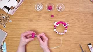 Handicraft guide – Mobile for prams