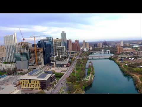 Aerial Footage of Austin