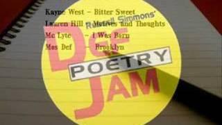 Mc's Kayne West, lauryn hill, Mc Lyte y Mos Def