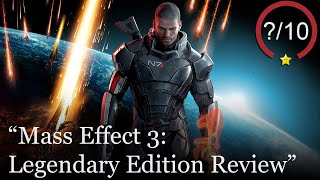 Mass Effect 3: Legendary Edition Review [PS4, Series X, & PC] (Video Game Video Review)