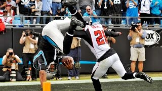 Cam Newton runs 72 yards & FLIPS into the end zone vs. Falcons in 2012