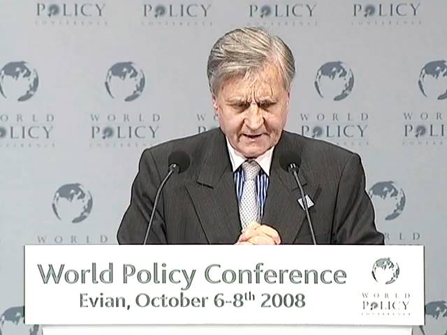 Jean-Claude Trichet - Plenary session Part 2