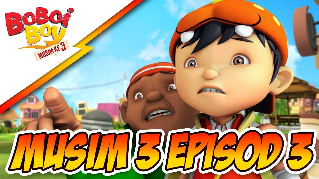 BoBoiBoy Musim 3 Episod 3: Probe Dalam Ingatan