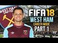 FIFA 18 West Ham Career Mode Gameplay Walkthrough Part 1 - FIRST SIGNING