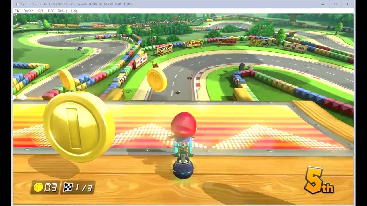 Mario kart 8 freeze cemu