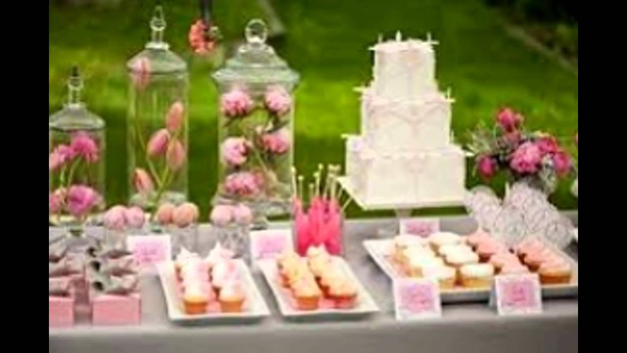 baby shower table decorations - YouTube
