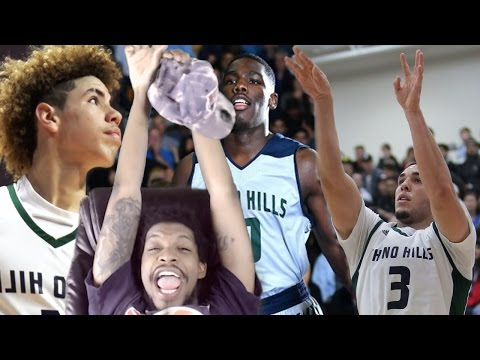 JESUS 115 POINTS IN 20 MINUTES! LIANGELO BALL 60 POINTS! CHINO HILLS vs LOS OSOS REACTION