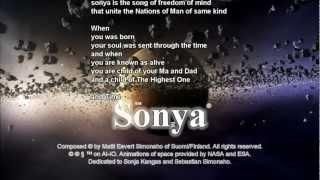 Sonya (with lyrics)