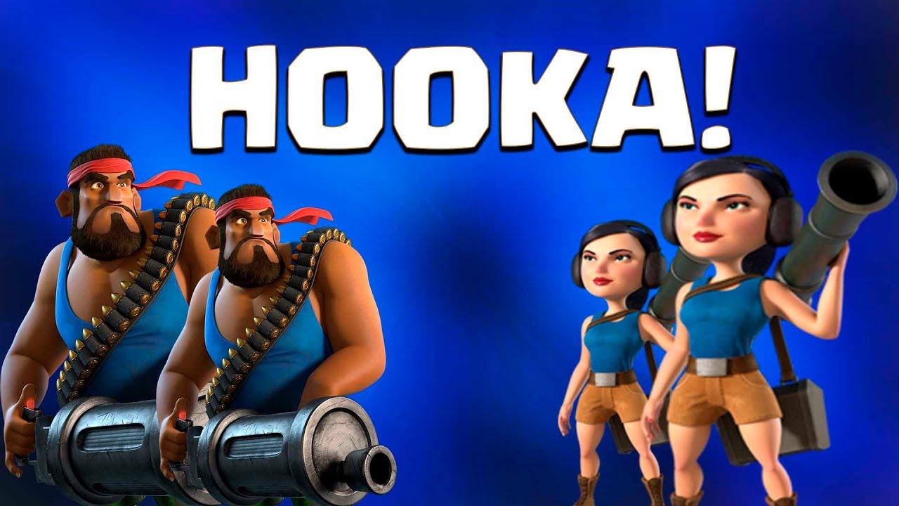 SUPER HOOKA ATTACK! | Boom Beach | ATTACKING DR T ( BOSS )