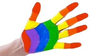 Learn Rainbow Colors Painting with Crayola Kids