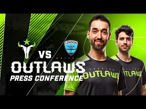 """""""Is it Laurel or Yanny?"""" - Houston Outlaws Press Conference Stage 4 Week 1 (London Spitfire)"""
