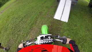 Riding 2010 kx65
