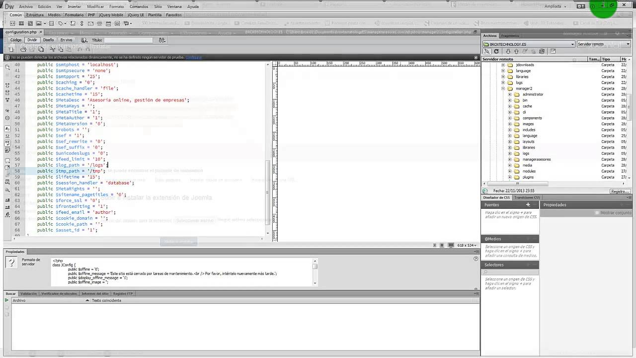 como solucionar error de instalación de extensiones en joomla 3 2