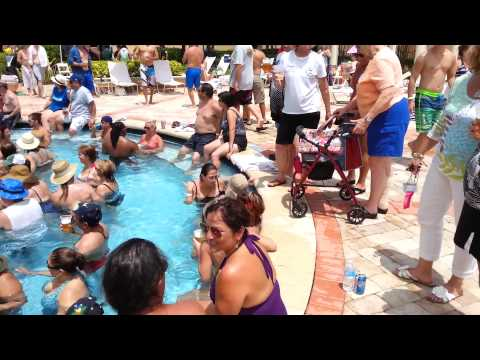 Panama Canal Zone 2014 Reunion pool party