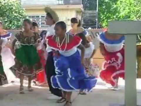 Dia de la Puertorriqueñidad 2012 Sabanetas Mani 5to grado en tarima