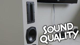SOUND QUALITY TEST OF THE DAYTON SYSTEM!