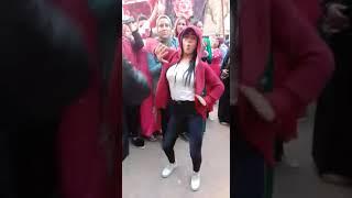رقص بنات على في تنجيد فاجر